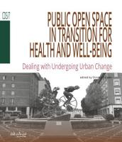 Public Open Space in Transition for health and well being PDF