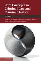 Core Concepts in Criminal Law and Criminal Justice  Volume 2  Criminal Procedure PDF