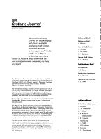 IBM Systems Journal PDF