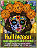 Halloween Coloring Book For Adult Relaxation