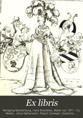 Ex libris: Buchkunst und angewandte Graphik, Band 3