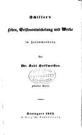 Schiller's Leben, Geistesentwickelung und Werke im Zusammenhang: Teil 5
