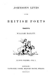Lives of the British Poets: Volumes 1-2
