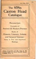 The Caxton Head Catalogue PDF