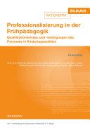 Professionalisierung in der Fr  hp  dagogik PDF