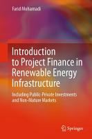 Introduction to Project Finance in Renewable Energy Infrastructure PDF