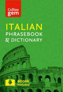 Collins Gem Italian Phrasebook and Dictionary