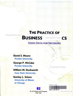 The Practice of Business Statistics Book