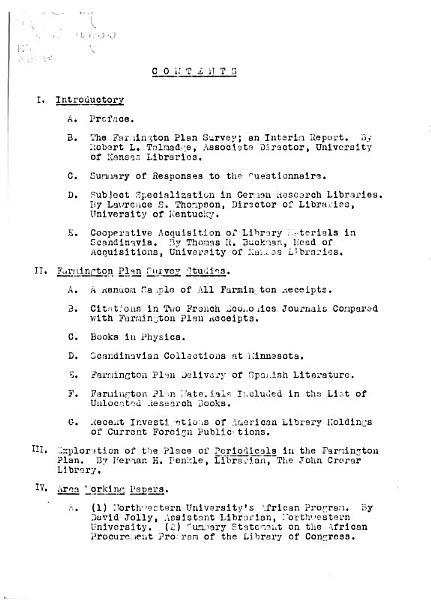 Download Farmington Plan Survey Book