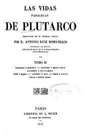 Las vidas paralelas de Plutarco: Trad. de su original griego por Antonio Ranz Romanillos, Volumen 2