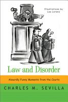 Law and Disorder  Absurdly Funny Moments from the Courts PDF