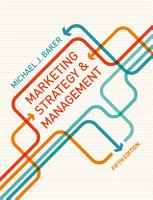 Marketing Strategy and Management PDF