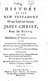 A new history of the Holy Bible, from the beginning of the world to the establishment of Christianity: Volume 5
