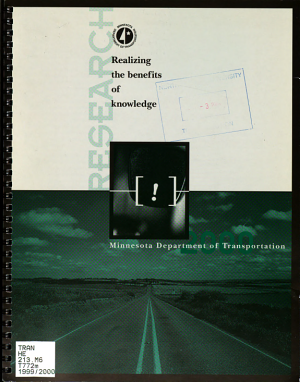 Transportation Research     Biennial Report PDF