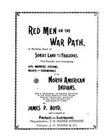 Red Men on the War Path PDF
