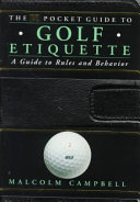 The DK Pocket Guide to Golf Etiquette