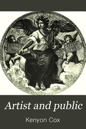 Artist and Public: And Other Essays on Art Subjects