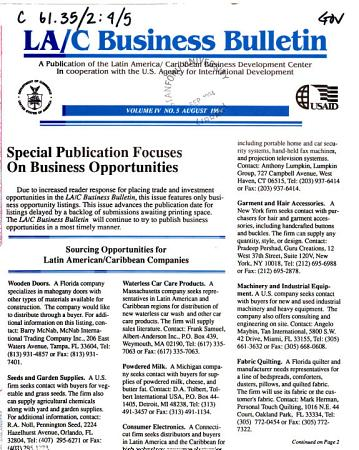 LA C Business Bulletin PDF
