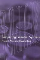 Comparing Financial Systems PDF