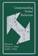 Understanding Verbal Relations PDF