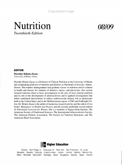 Annual Editions  Nutrition 08 09 PDF