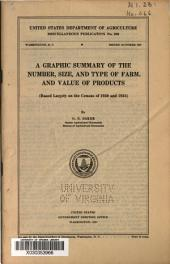 A graphic summary of the number, size, and type of farm, and value of products: (based largely on the census of 1930 and 1935)