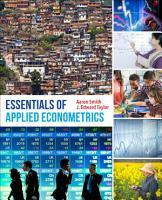 Essentials of Applied Econometrics PDF