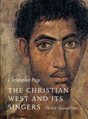 The Christian West and Its Singers Book