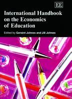 International Handbook on the Economics of Education PDF
