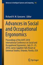 Advances in Social and Occupational Ergonomics