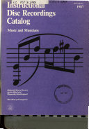 Instructional Disc Recordings Catalog PDF