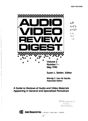 Audio Video Review Digest PDF