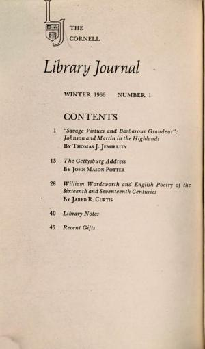 The Cornell Library Journal PDF