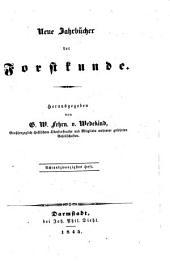 Neue Jahrbücher der Forstkunde: Band 28