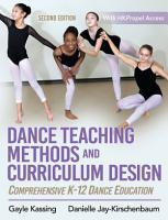Dance Teaching Methods and Curriculum Design PDF