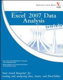 Microsoft Office Excel 2007 Data Analysis