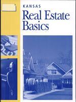 Kansas Real Estate Basics PDF