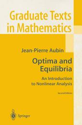 Optima and Equilibria: An Introduction to Nonlinear Analysis, Edition 2