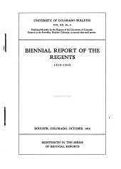 Biennial Report of the Regents: Volume 12