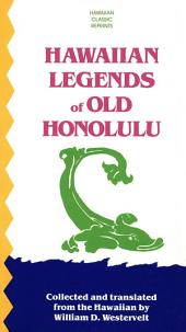 Hawaiian Legends of Old Honolulu