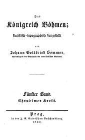 Das Königreich Böhmen: statistisch-topographisch dargestellt. Chrudimer Kreis. 5