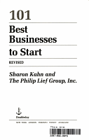 101 Best Businesses to Start PDF