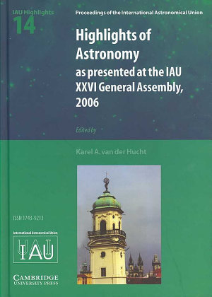 Highlights of Astronomy  Volume 14