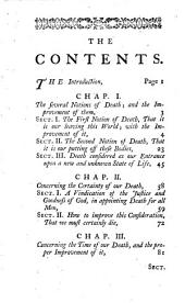 A practical discourse concerning death
