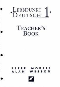 Lernpunkt Deutsch 1   Teacher s Book with New German Spelling PDF