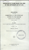 Definition of Work Made for Hire in the Copyright Act of 1976 PDF