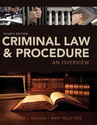 Criminal Law And Procedure An Overview Book PDF
