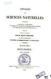 Annales des sciences naturelles. Botanique: Volume5