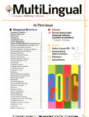 Multilingual Annual Resource Directory  and  Annual Editorial Index PDF