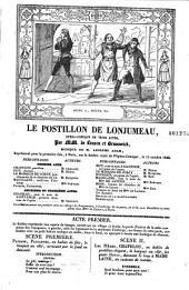 Le Postillon de Lonjumeau: opéra-comique en trois actes